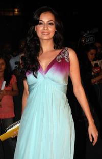 Diya Mirza at the Awards Ceremony in Mumbai.