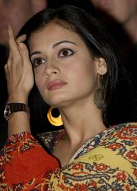 Diya Mirza at the inaugural function of the International Indian Film Academy (IIFA) Awards 2008 weekend.