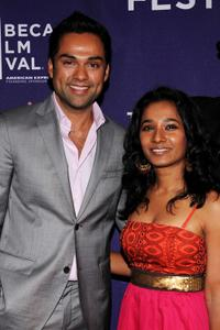 Abhay Deol and Tannishtha Chatterjee at the premiere of