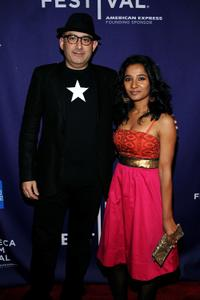 Dev Benegal and Tannishtha Chatterjee at the premiere of