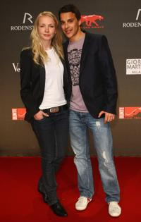 Janin Reinhardt and Kostja Ullmann at the 2009 New Faces Award.