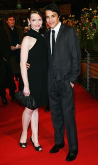 Karoline Herfurth and Kostja Ullmann at the premiere of