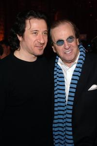 Danny Aiello and Federico Castelluccio at the Frank Vincent's Book Release Celebration.