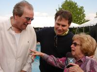 Danny Aiello, Jason Binn and Dr. Ruth Westheimer at the Jason Binn's annual Hamptons Magazine Memorial Day.