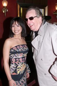 Danny Aiello and Danielle Camastra at the premiere of
