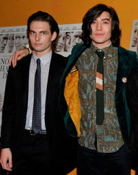 Sam Levinson and Ezra Miller at the New York premiere of