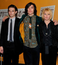 Sam Levinson, Ezra Miller and Ellen Barkin at the New York premiere of