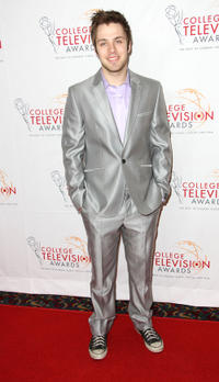Matthew Fahey at the Academy of Television Arts & Sciences Foundation's 33rd Annual College Television Awards.