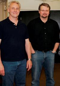 John Dossett and John Ellison Conlee at the Rehearsal of