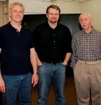 John Dossett, John Ellison Conlee and Denis Holmes at the Rehearsal of