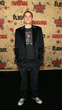 Graham Sibley at the fuse Fangoria Chainsaw Awards.