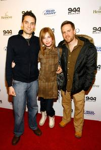 Graham Sibley, Tonya Cornelisse and Danny Roew at the 944 Magazine's party during the Sundance Film Festival.