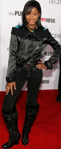 Keke Palmer at the world premiere of