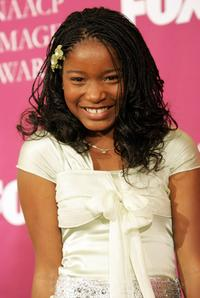Keke Palmer at the 36th NAACP Image Awards.