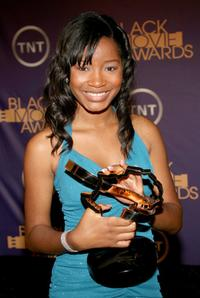 Keke Palmer at the Film Life's 2006 Black Movie Awards.