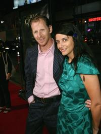Lew Temple and his wife Shelly Temple at the premiere of