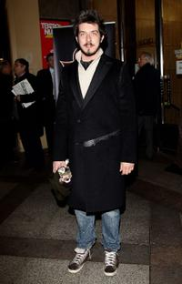 Paolo Ruffini at the Red Carpet of