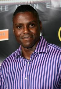 Carl Lewis at the after party of 2007 BET Awards.