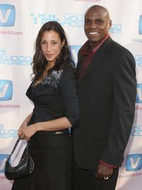 Carl Lewis and Guest at the Movieline's Hollywood Life 8th Annual Young Hollywood Awards.
