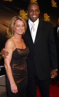 Nadia Comanici and Carl Lewis at the Sports Illustrated Night of Champions.