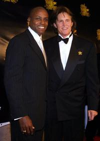 Carl Lewis and Bruce Jenner at the Sports Illustrated Night of Champions.