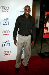 Carl Lewis at the tribute to Penelope Cruz screening of