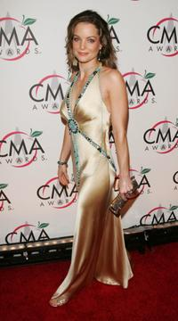 Kimberly Williams-Paisley at the 39th Annual Country Music Association Awards.