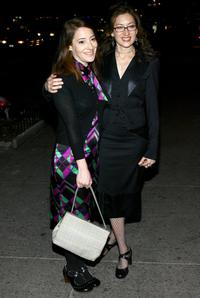 Clea Lewis and Director Annabelle Gurwitch at the premiere party of