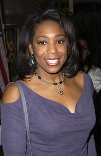 Dawnn Lewis at the Coca Cola Nu Classic Soul Lounge celebrating the launch of three new Coca Cola commercials.
