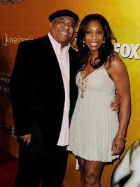 Don Welch and Dawnn Lewis at the 41st Annual NAACP Image Awards Nominee Luncheon.