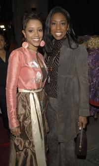 Chrystee Pharris and Dawnn Lewis at the 20th premiere of