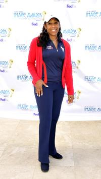 Dawnn Lewis at the 41st NAACP Image Awards' Celebrity Golf Challenge.