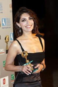 Caterina Murino at the Globo D'Oro Foreign Press Association Awards.