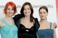 Francesca Inaudi, Stefania Rocca and Giovanna Mezzogiorno at the photocall of