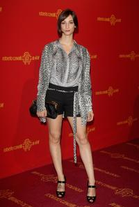 Francesca Inaudi at the Roberto Cavalli at HandM collection launch party.
