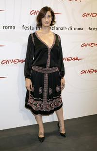Francesca Inaudi at the photocall to promote