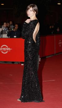 Francesca Inaudi at the premiere of