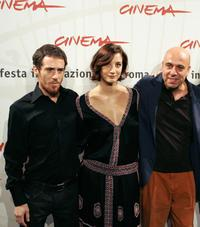 Elio Germano, Francesca Inaudi and Paolo Virzi at the photocall of