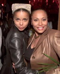 Victoria Raul and Jenifer Lewis at the post-premiere party of