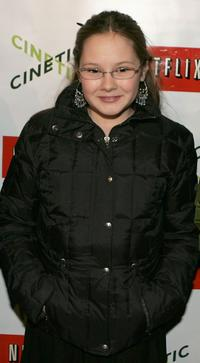 Tara Gallagher at the 2005 Sundance Film Festival.