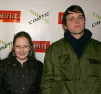 Tara Gallagher and Michael Mosley at the Cinetic Media party during the 2005 Sundance Film Festival.