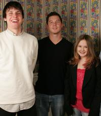 Michael Mosley, Shawn Hastosy and Tara Gallagher at the 2005 Sundance Film Festival.