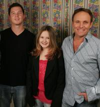 Shawn Hastosy, Tara Gallagher and Robert Knott at the 2005 Sundance Film Festival.