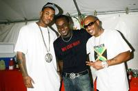 The Game, Frederick Morton and Mario Winans at the MTV's Tempo network launch celebration.