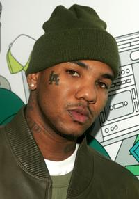 The Game at the MTV's Total Request Live.