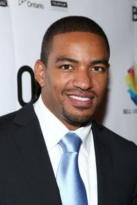 Laz Alonso at the premiere of