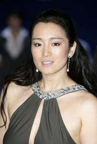 Gong Li at the European premiere of