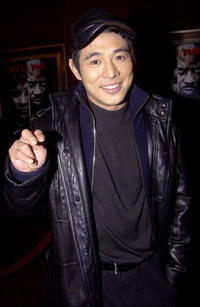 Jet Li at the N.Y. premiere of