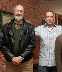 Richard Libertini and Danny Hoch at the New York premiere of