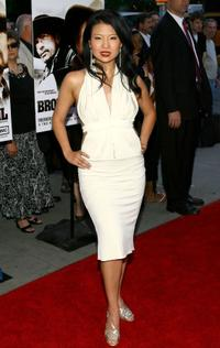 Gwendoline Yeo at the premiere screening of